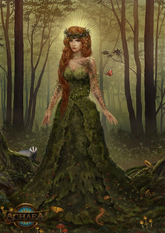 Gaia, the Earthmother