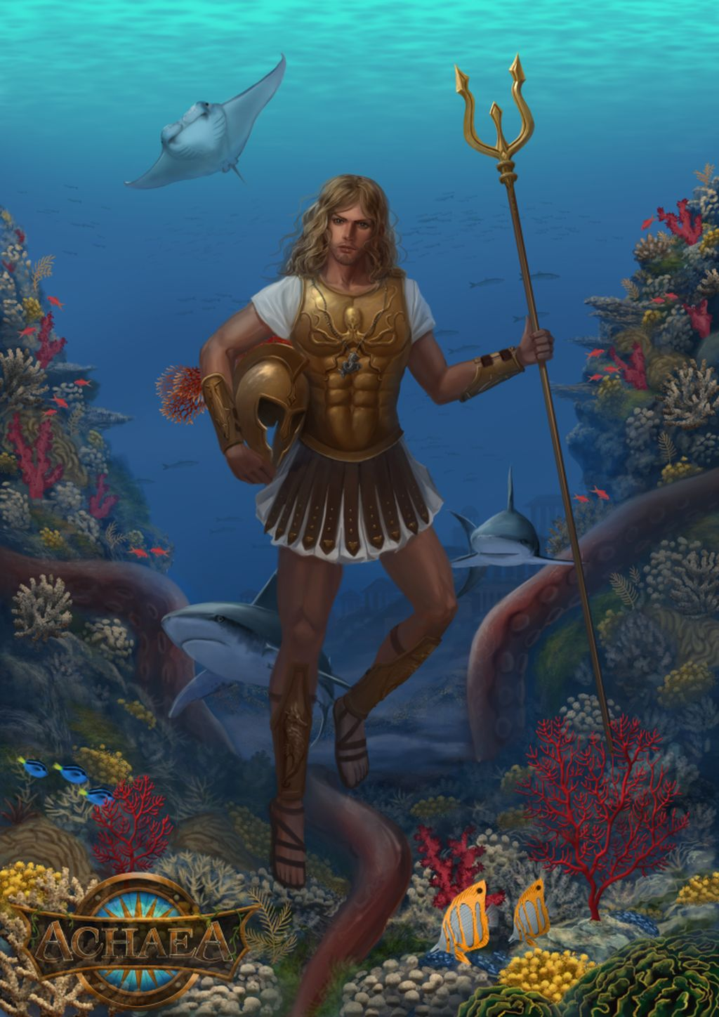 Neraeos, God of the Sea