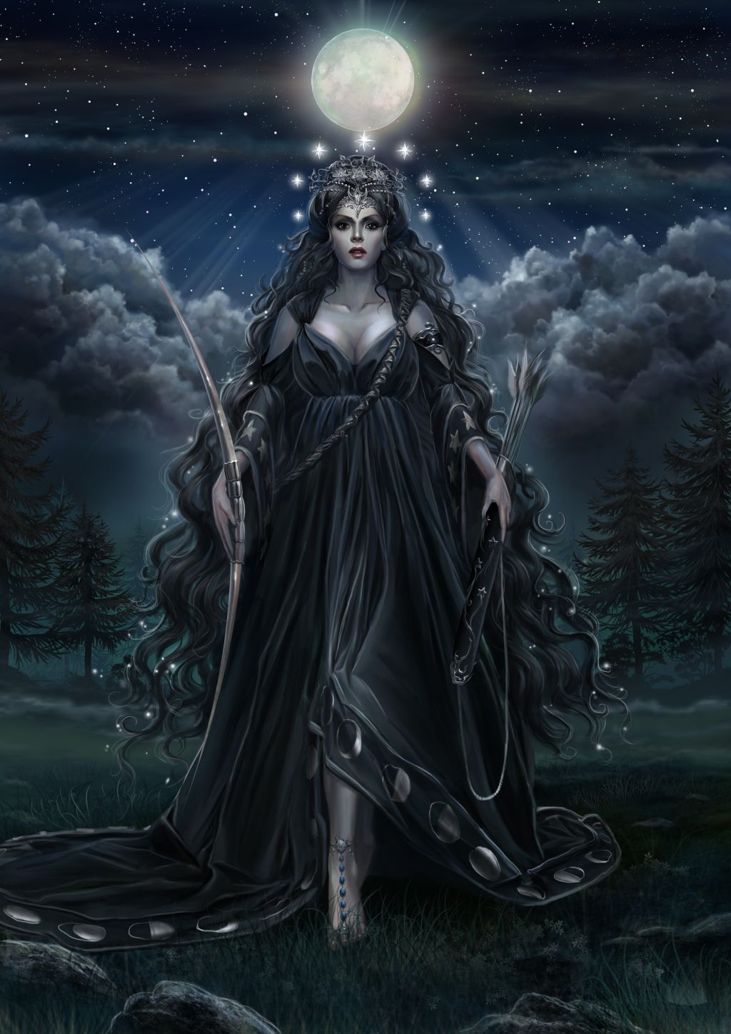 Ourania, Goddess of the Moon