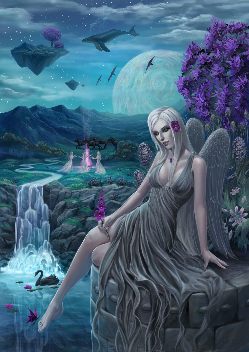 Valnurana, Goddess of Sleep and Dreams